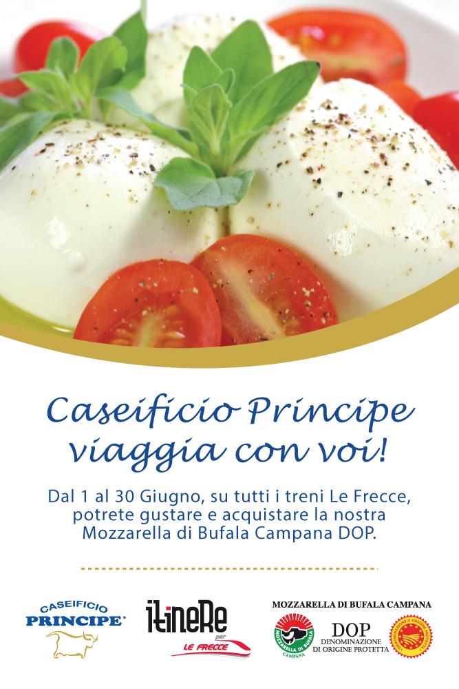 Caseificio Principe in viaggio con gli italiani